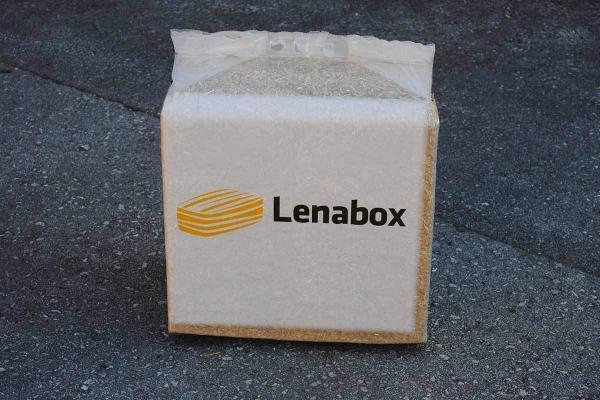 Lenabox bala slame v pakiranju 8 kg
